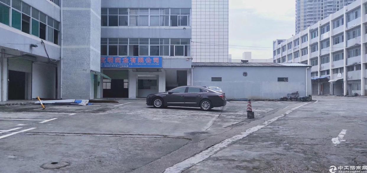 坂田雪象新出红本独门独院500平带消防喷淋厂房出租