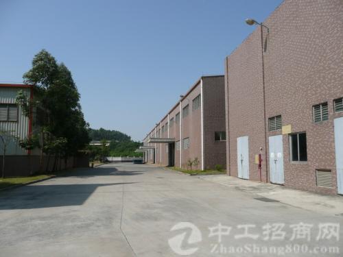 洪梅广沿江高速附近 独门独院 九成新厂房