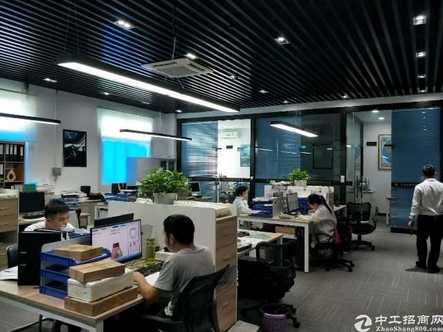 西乡固戍润东晟工业城4楼800平精装修厂房