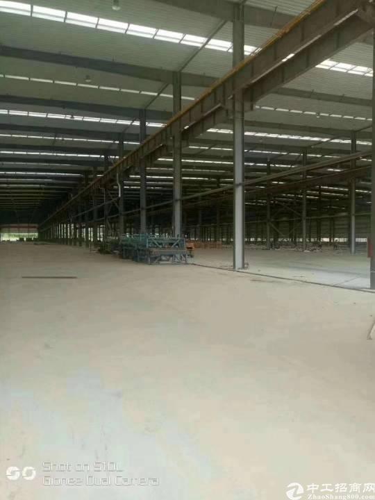 原房东独院钢构厂房  面积10000平,两栋