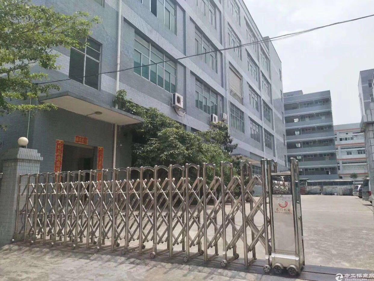 西乡固戍大型工业区3楼2200平厂房出租