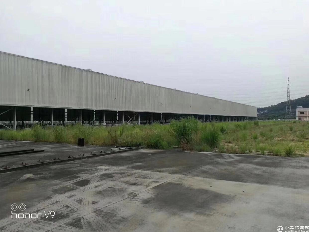 寮步靠高速出口出钢结构厂房出租(滴水12米)
