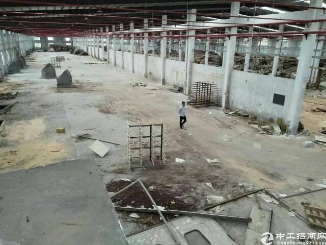沙田新空出独院钢构厂房招租(滴水8米高)