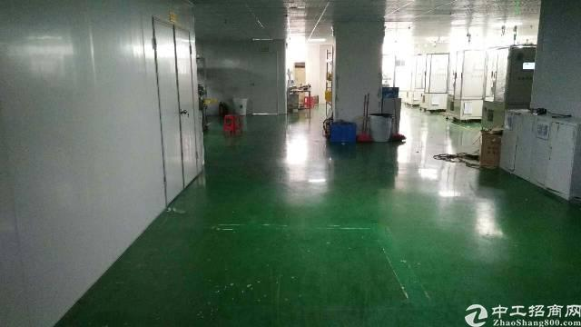 鹤州工业区3楼2300平米厂房出租