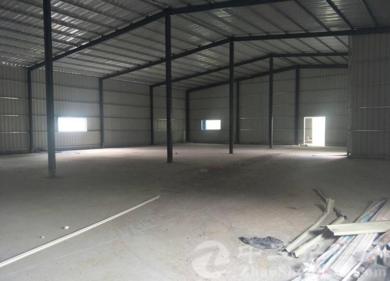 高埗镇钢构单一层5000平,带卸货平台