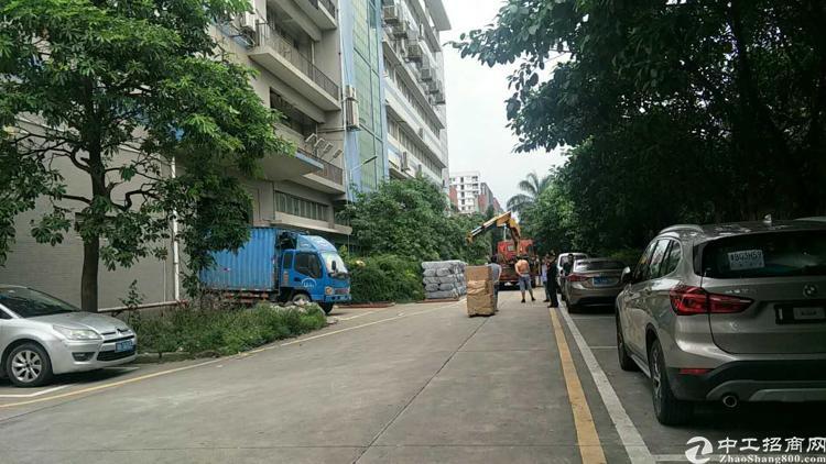 福永塘尾地铁口附近新出楼上二千平方厂房出租-图4