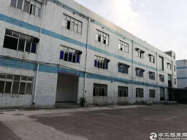 坪山区沙博村新出独院厂房一楼500平厂房招租