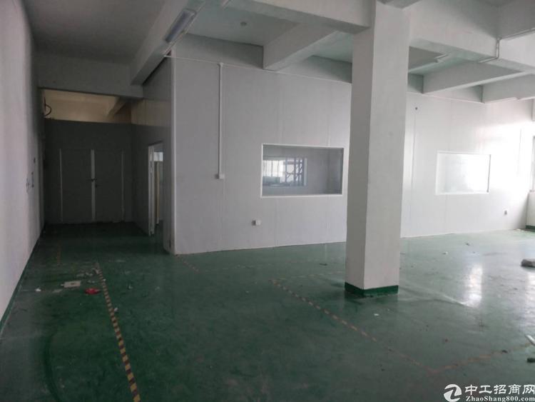 沙井万丰98工业区3楼450平米厂房出租