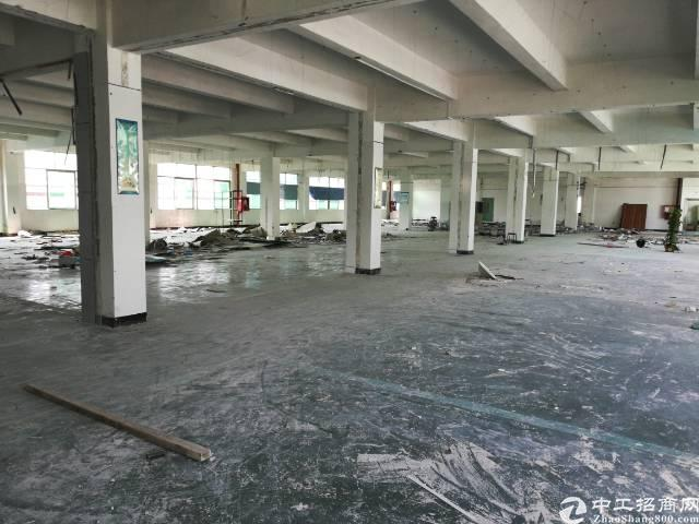 洪浪北地铁口新出楼上680平厂房出租,大小面积可分租