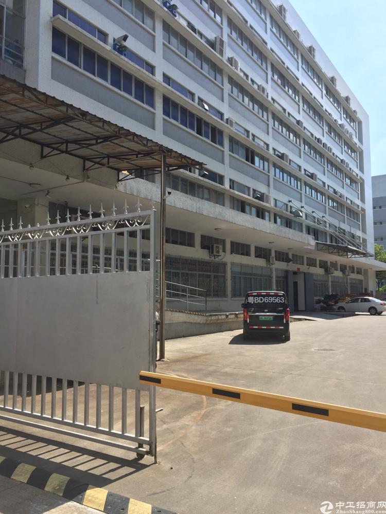 西丽南岗工业区新出楼上1800平厂房招租-图2