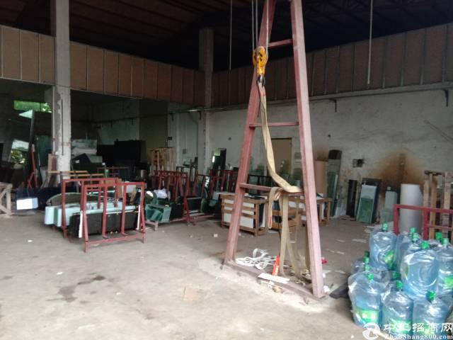 坑梓新出单一层钢构独院1400平招租 滴水6米