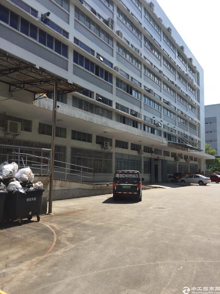 西丽南岗工业区新出楼上1800平厂房招租