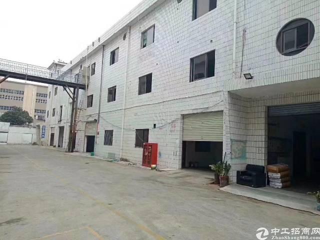 沙井新出(红本)独门独院厂房1-3层4300平出租