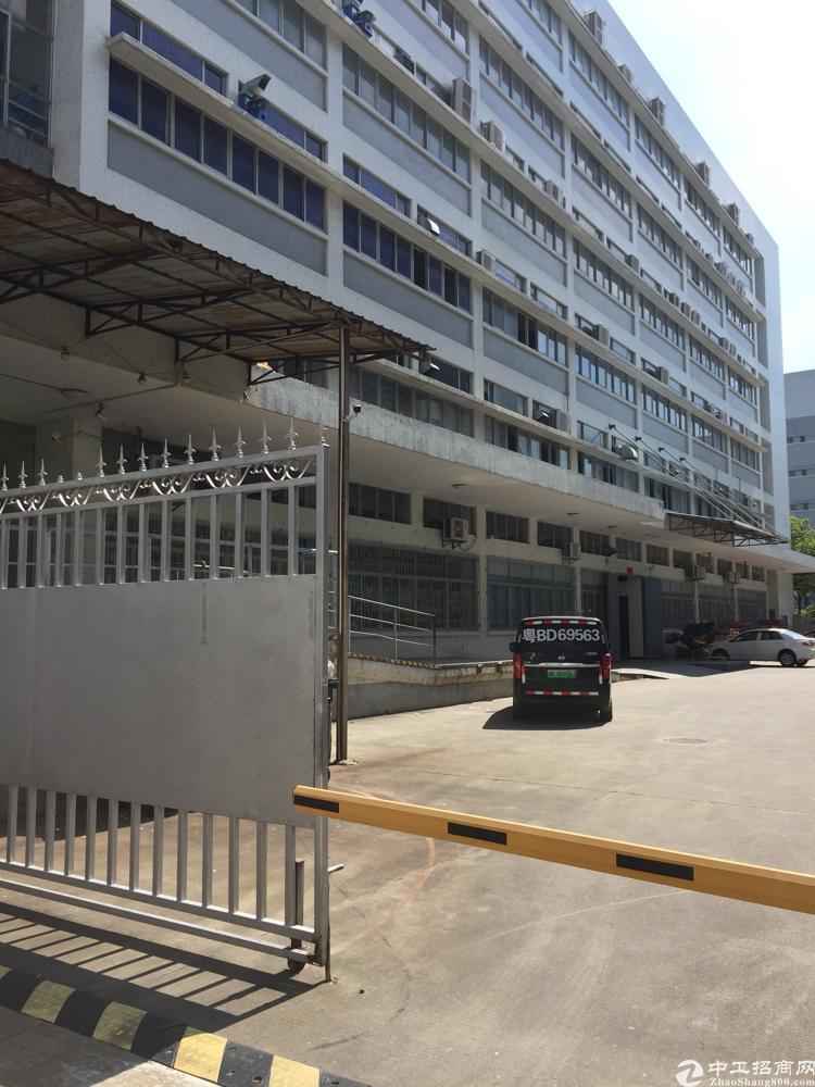 西丽南岗工业区新出楼上1800平厂房招租-图4