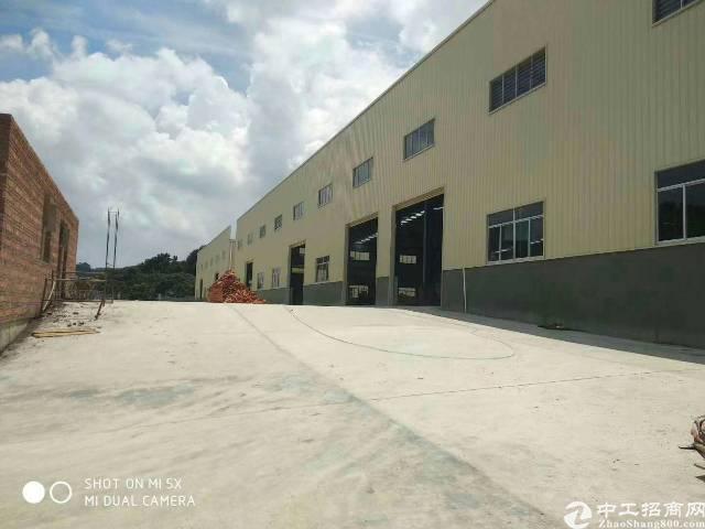 沙井107国道边10米高钢构厂房3000平米出租