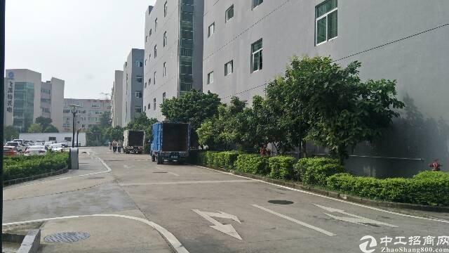 龙岗坪地楼上2000平原房东红本精装修厂房出租可分租