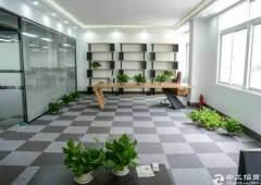 清湖地铁口,整层办公厂房1200平,全新装修