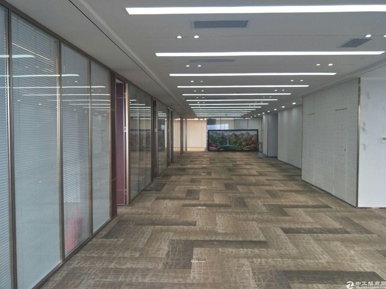 福田CBD豪华装修带家私大小可分租无缝对接地铁口