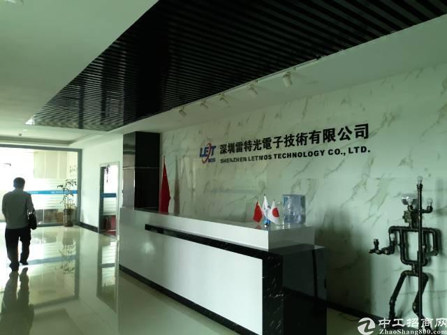 沙井新桥高速路口附近厂房招租,豪华装修,有前台办公室,展厅