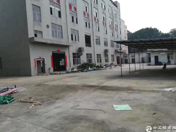 观澜轻轨口原房东独院1万平一楼六米高公摊小