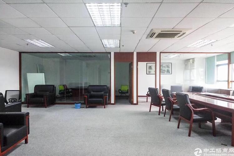 车公庙地铁站旁精装168平办公室