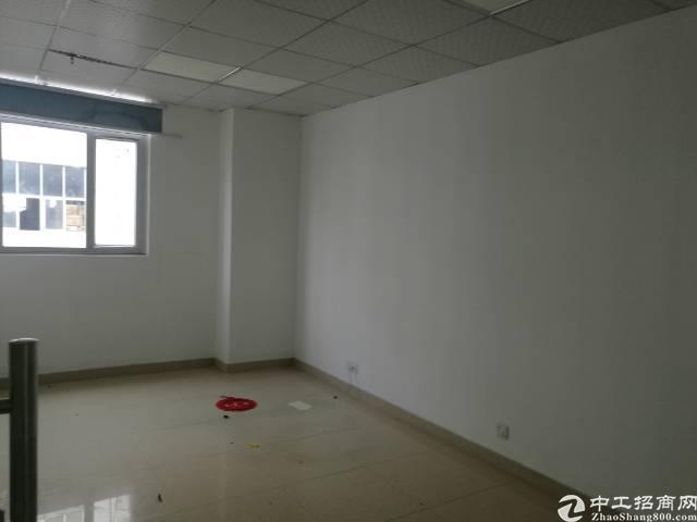 沙井地铁口附近新出楼上豪华装修整层3400平厂房出租-图5