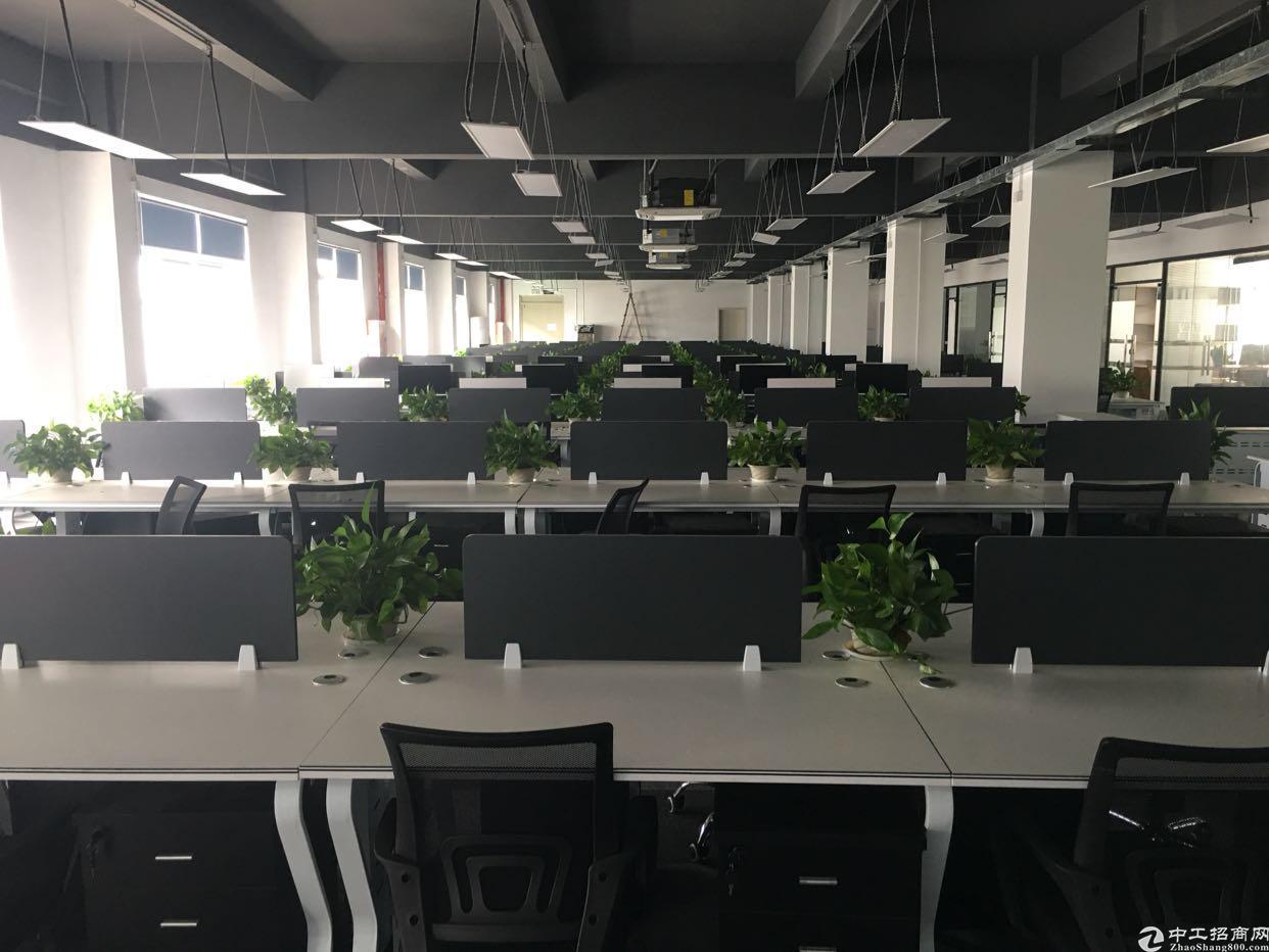 龙华清湖1400平精装办公室,拎包办公
