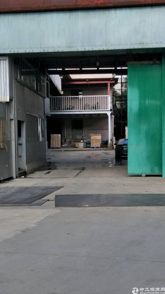 平湖华南城富民工业区原房东一楼仓库出租500平米