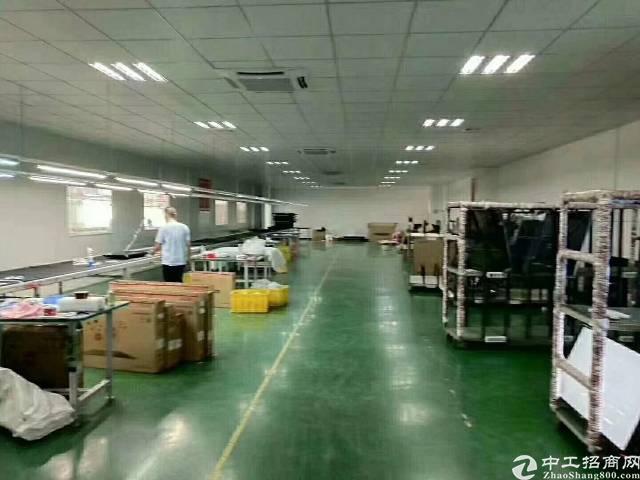 福永桥头地铁口楼上1500平厂房出租可分租-图2