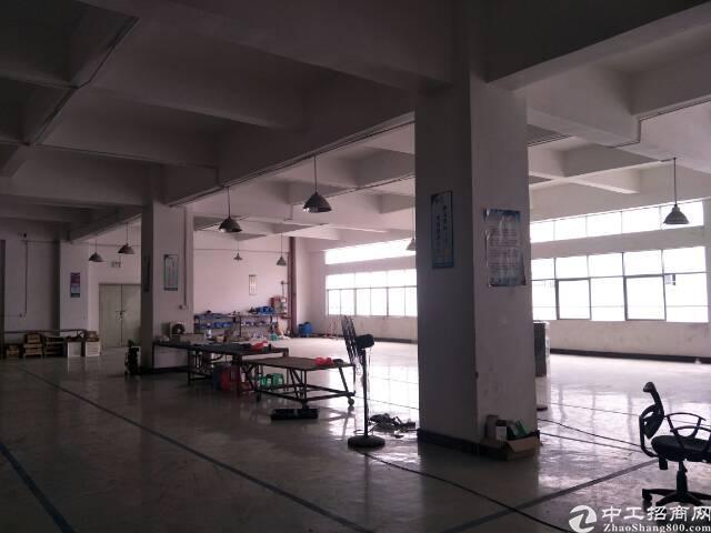 松岗江边新出楼上标准重工业厂房红本厂房出租