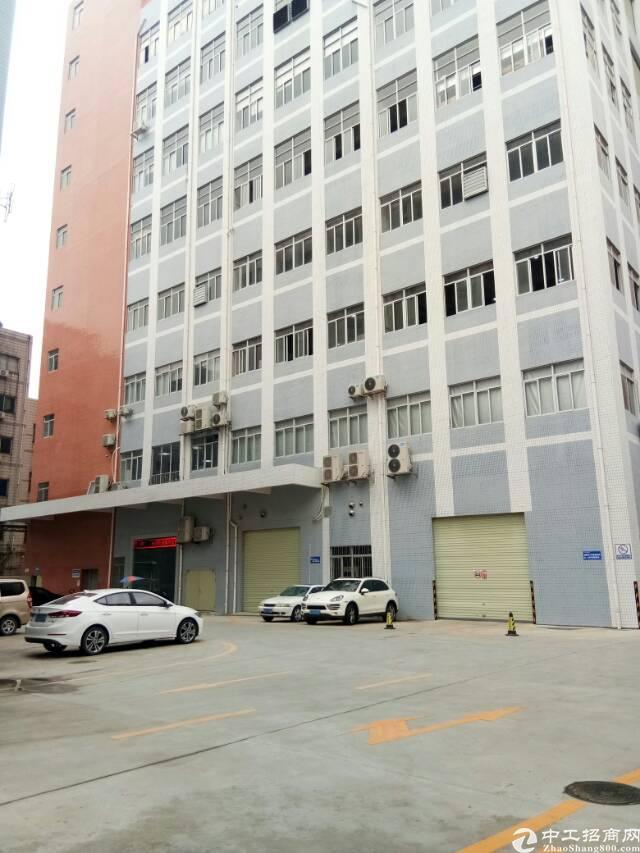 长安乌沙靠深圳处新出楼上650平带装修厂房