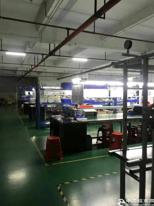 寮步带现成装修二楼厂房出租2050平方