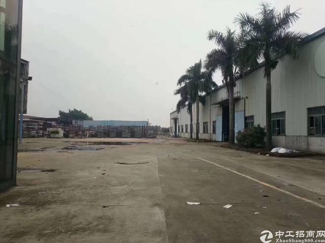 福永新和20000平钢结构物流仓储