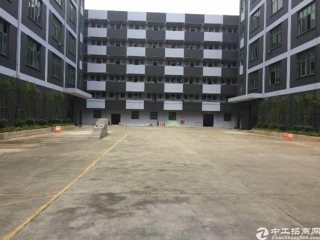 坪山比亚迪附近工业园区独栋厂房1-5层6200平米出租