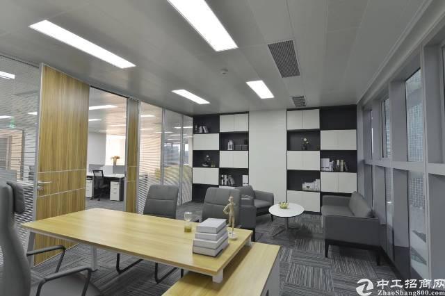 南山科技园5A甲级写字楼全新豪装250㎡起租