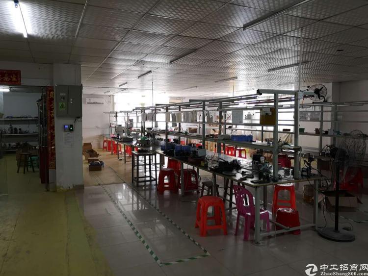 六约埔厦工业区电子厂分租300平米
