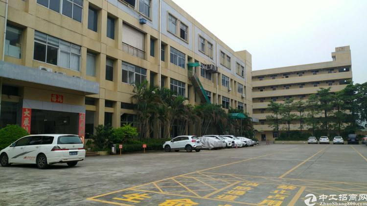 松岗中学对面10000平方原房东红本厂房招租可办理环评