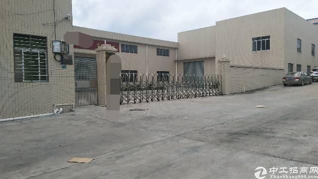厚街新出独院单层厂房6000平方米招租