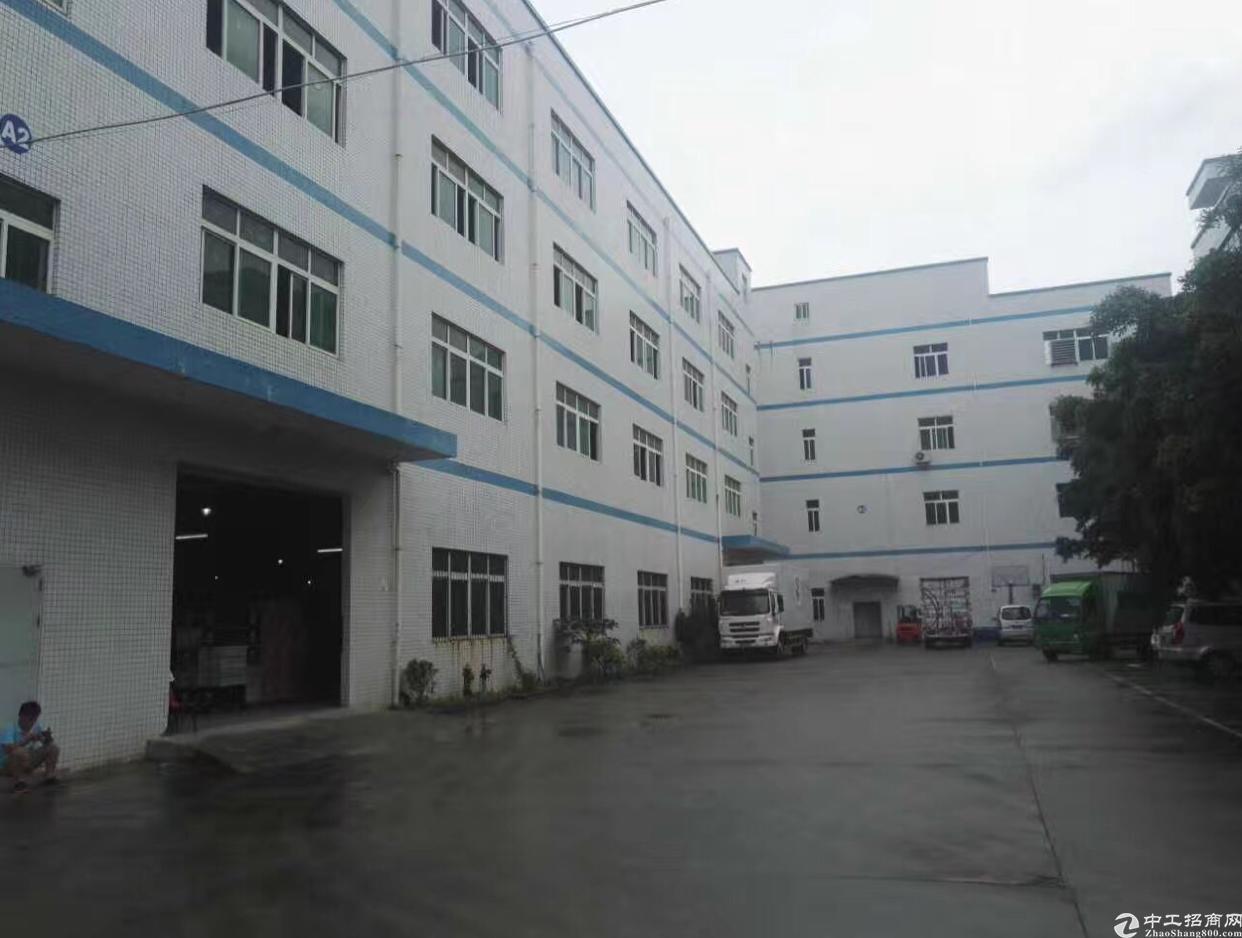 龙岗中心城附近独院厂房1-4层5800带红本