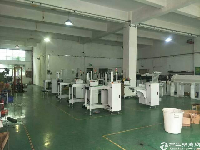 松岗大田洋工业区有一楼厂房650平出租