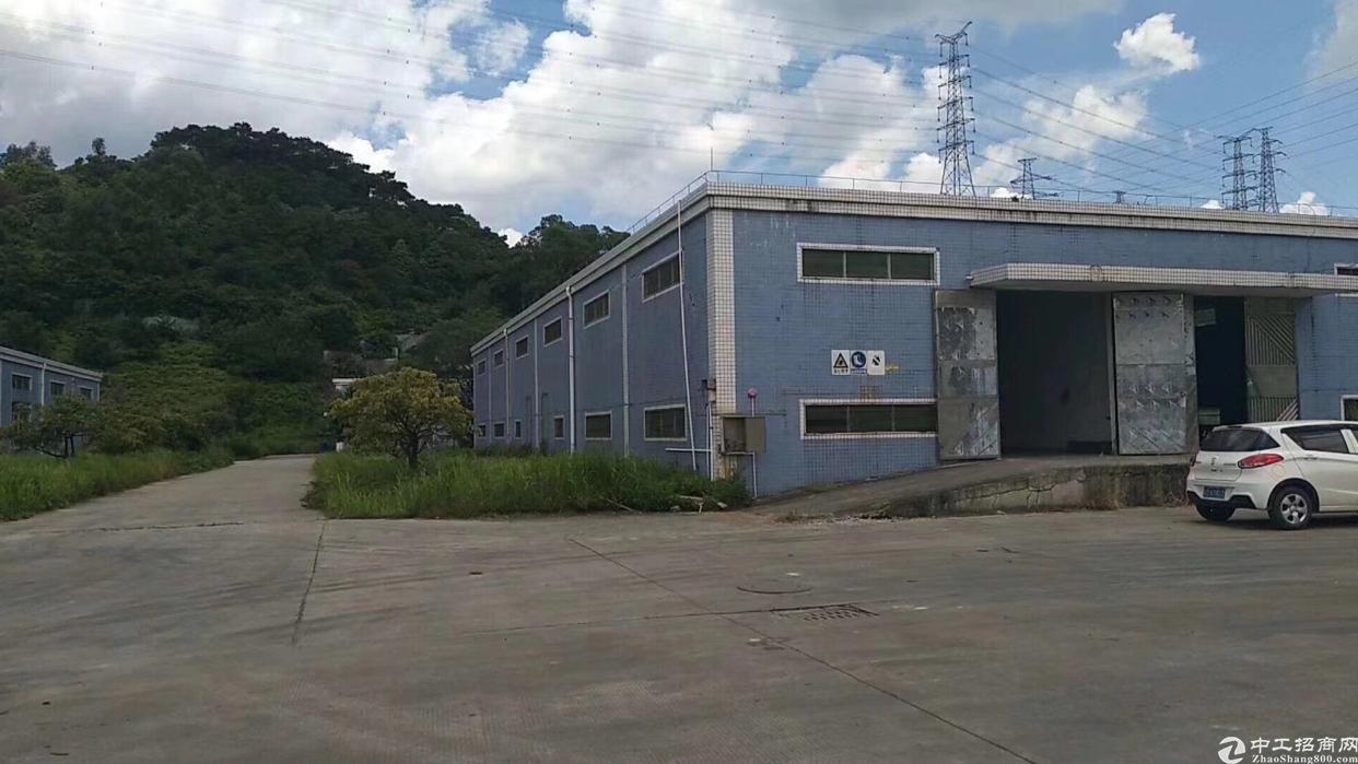 寮步凫山新出新出单一层厂房15000平方(可分租)