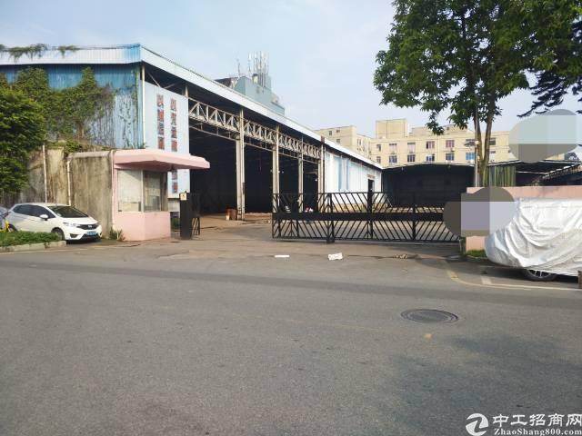 西丽独院钢构厂房招租7000平方,空地大