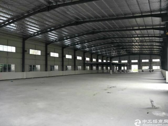 园洲镇全新钢构2800平方带牛角位厂房出租