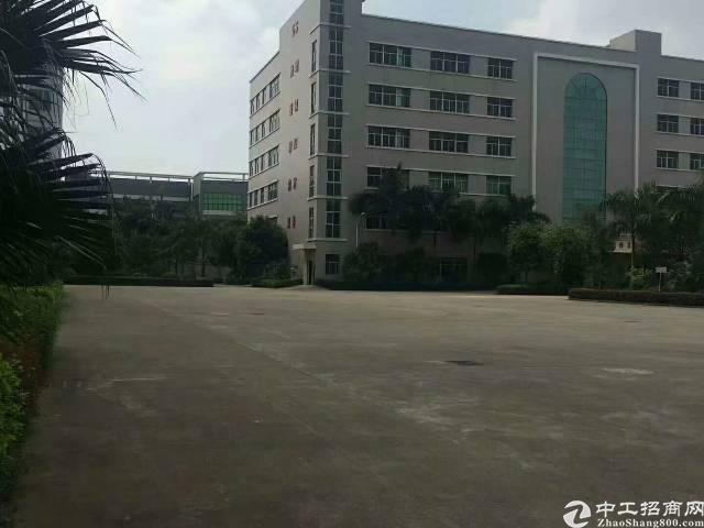 松岗燕川新出独院厂房55000平方有红本带喷淋原房东招租
