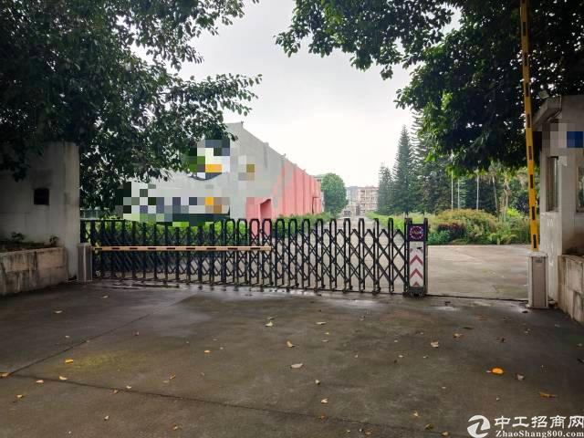 长安镇沿江高速附近新出原房东单一层独院厂房