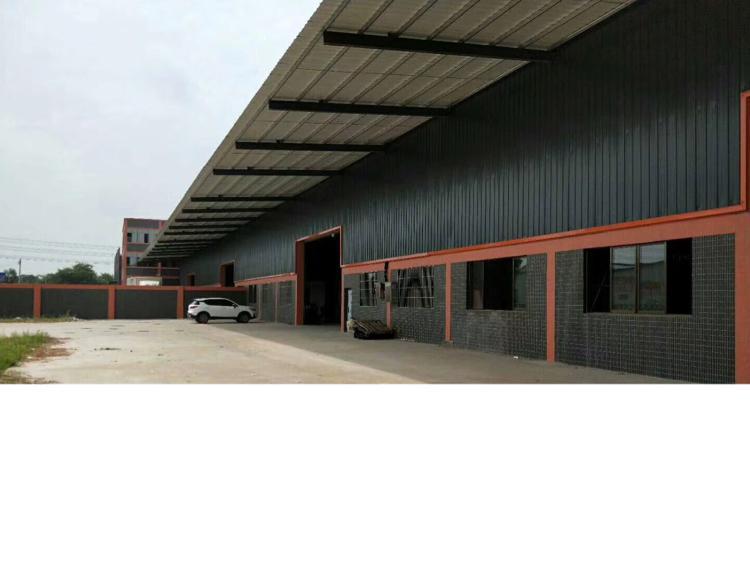 钢结构厂房12000平方,中高13米,可以加装牛角,电200