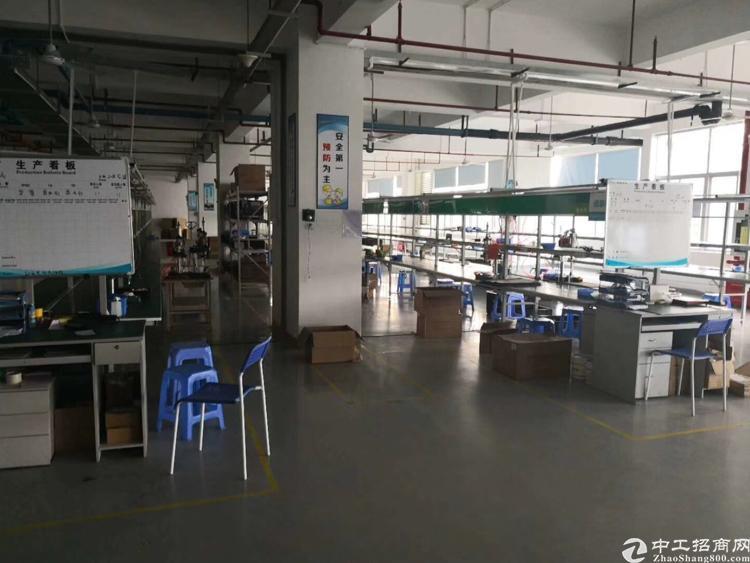 横岗228工业区1700平米厂房带装修出租
