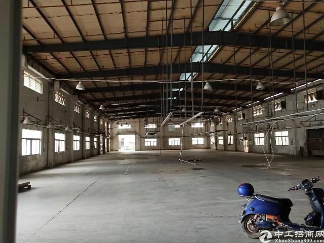 公明上村莲塘工业城3600平独院厂房出租