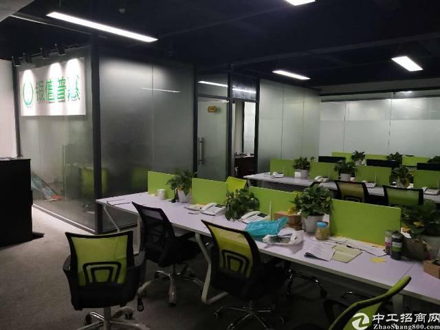 横岗力嘉文化创意园138平方精装修写字楼出租!