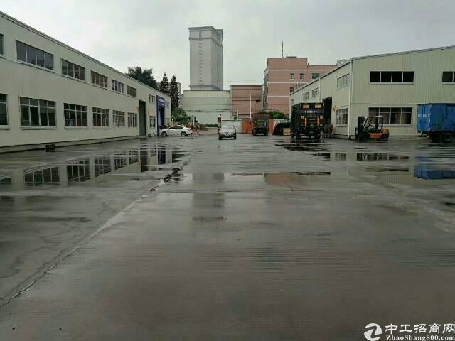 梅观高速出口新出独院钢构厂房8000平